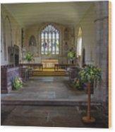 Holy Cross Church, Ramsbury Wood Print