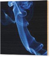 Holy Smoke Wood Print