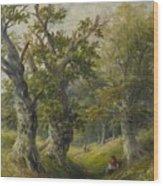 Hopton Wood Wood Print