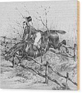 Horserider, C1840 Wood Print