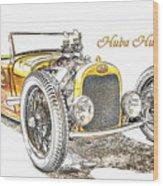 Huba Huba Wood Print