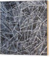 3. Ice Pattern 2, Corbridge Wood Print