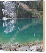 Joffre Lake Middle B.c Canada Wood Print