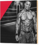 John Cena Wrestling Collection Wood Print