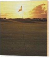 Kapalua Golf Club Wood Print
