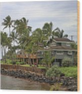 Kauai Hawaii Usa Wood Print