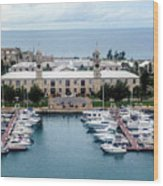 Kings Wharf Bermuda Wood Print