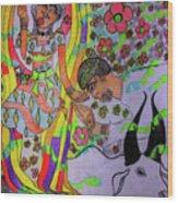 Kintu And Nambi A Folktale Wood Print
