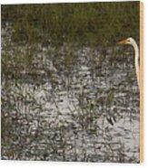 Knee Deep Wood Print