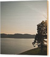 Lake Cumberland Sunset Wood Print