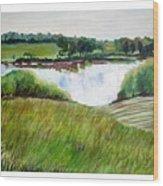 Lake Joy Wood Print