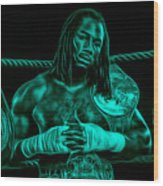 Lennox Lewis Collection Wood Print