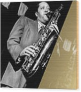 Lester Young Collection Wood Print