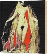Louise Brooks Nude Circa 1928-2008 Wood Print
