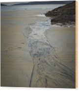 Luskentyre, Isle Of Harris Wood Print