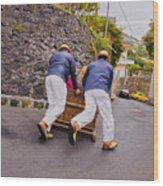 Madeira Wood Print