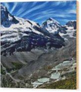 Matterhorn Panorama Wood Print