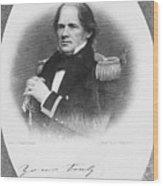 Matthew Fontaine Maury Wood Print by Granger