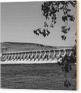 Mcnary Dam Wood Print by Robert Bales
