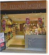 Meat Market In Palma Majorca Spain Wood Print