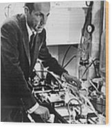 Melvin Calvin, American Chemist Wood Print