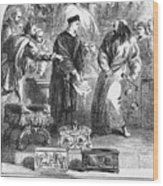 Merchant Of Venice Wood Print