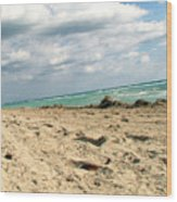 Miami Beach Wood Print