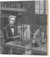 Michael Faraday (1791-1867) Wood Print