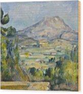 Montagne Saint-victoire Wood Print