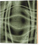 Moveonart Unknown Artistic Intelligence 2 Wood Print