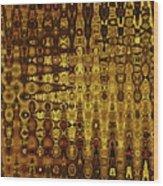 Mushroom Abstract Wood Print