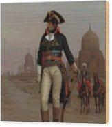Napoleon In Egypt Wood Print