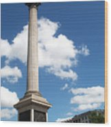Nelsons Column Wood Print