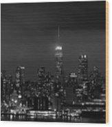 New Yorker Wood Print