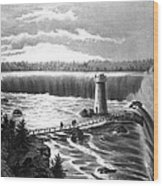 Niagara Falls Wood Print