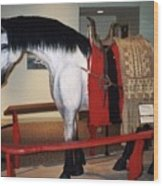 North Dakota Cowboy Hall Of Fame Wood Print
