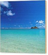 Oahu, Lanikai Beach Wood Print
