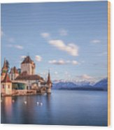 Oberhofen - Switzerland Wood Print