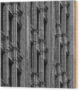 Office Building Midtown Manhattan Wood Print