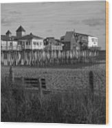 Old Orchard Beach Maine Wood Print