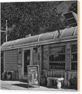 O'rourke's Diner Wood Print