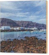 Orzola - Lanzarote Wood Print