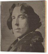 Oscar Wilde 2 Wood Print