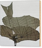 Otto Lilienthal (1848-1896) Wood Print
