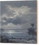 Passage Of Humaita Wood Print