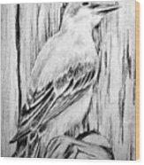 Pitirre Wood Print