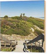 Ponte Vedra Beach Wood Print