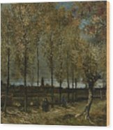 Poplars Near Nuenen Wood Print