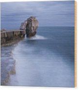 Portland Bill Seascapes Wood Print
