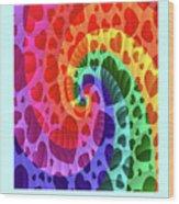 Rainbow Love Wood Print